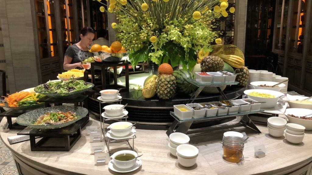 Mandarin Oriental Kuala Lumpur Frühstück