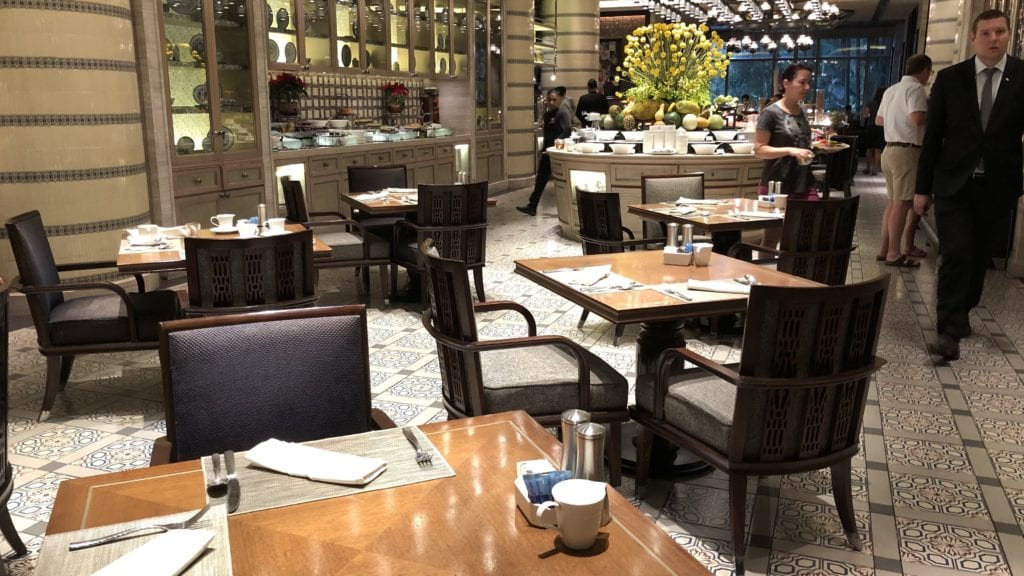 Mandarin Oriental Kuala Lumpur Frühstück Restaurant