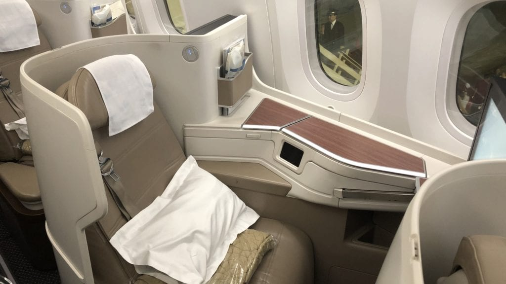 Saudia Business Class Boeing 787