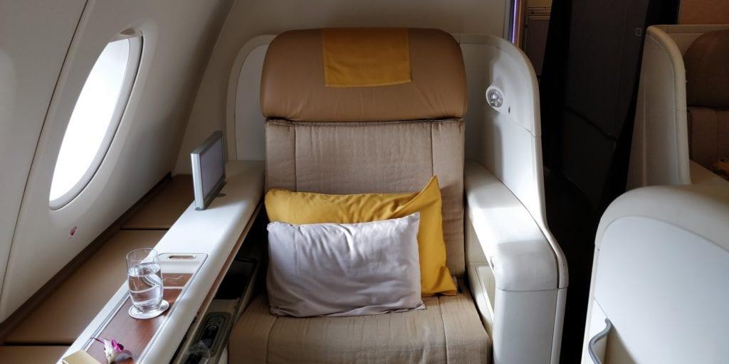 Thai Airways First Class Airbus A380