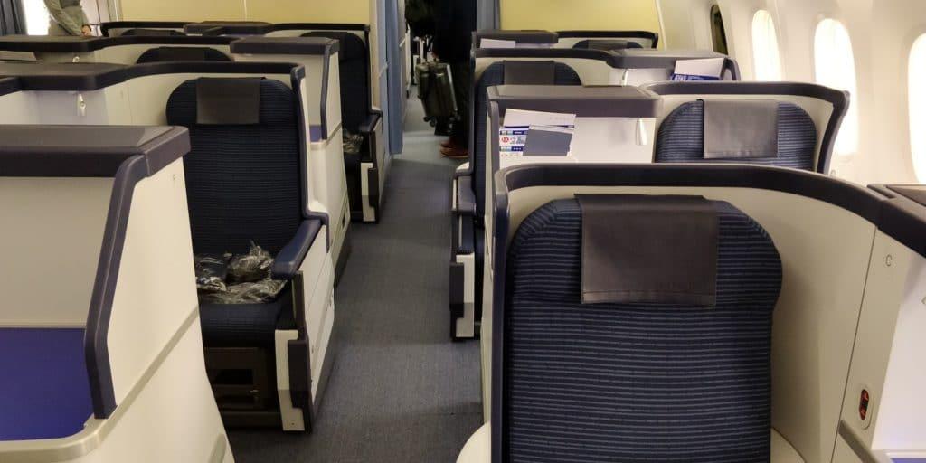 ANA Business Class Boeing 787 Sitz
