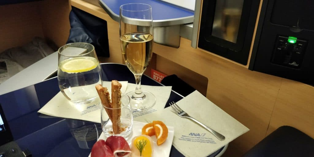ANA First Class Canapes 2