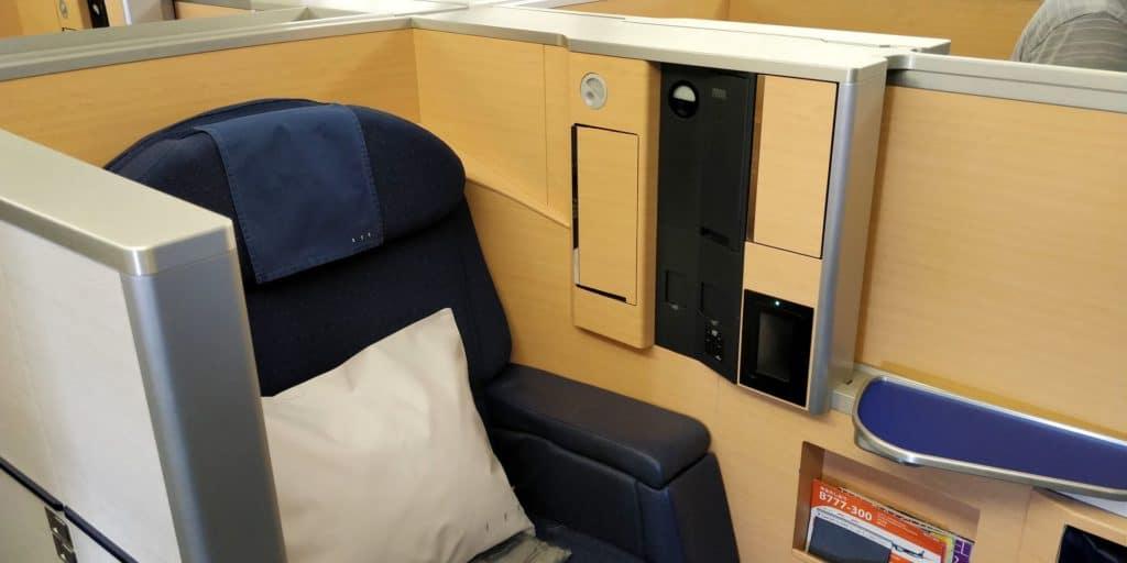 ANA First Class Sitz 4