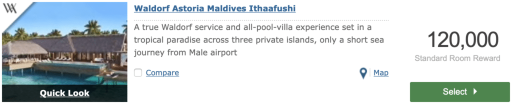 Waldorf Astoria Malediven Hilton Honors