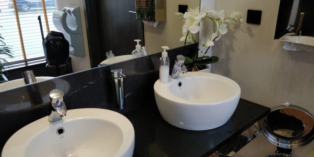 Bolero Executive Lounge Warschau Toiletten