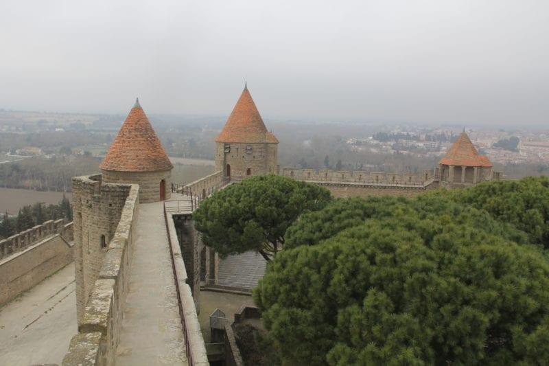Carcassonne Burgwall