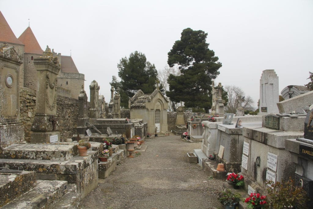 Carcassonne Friedhof