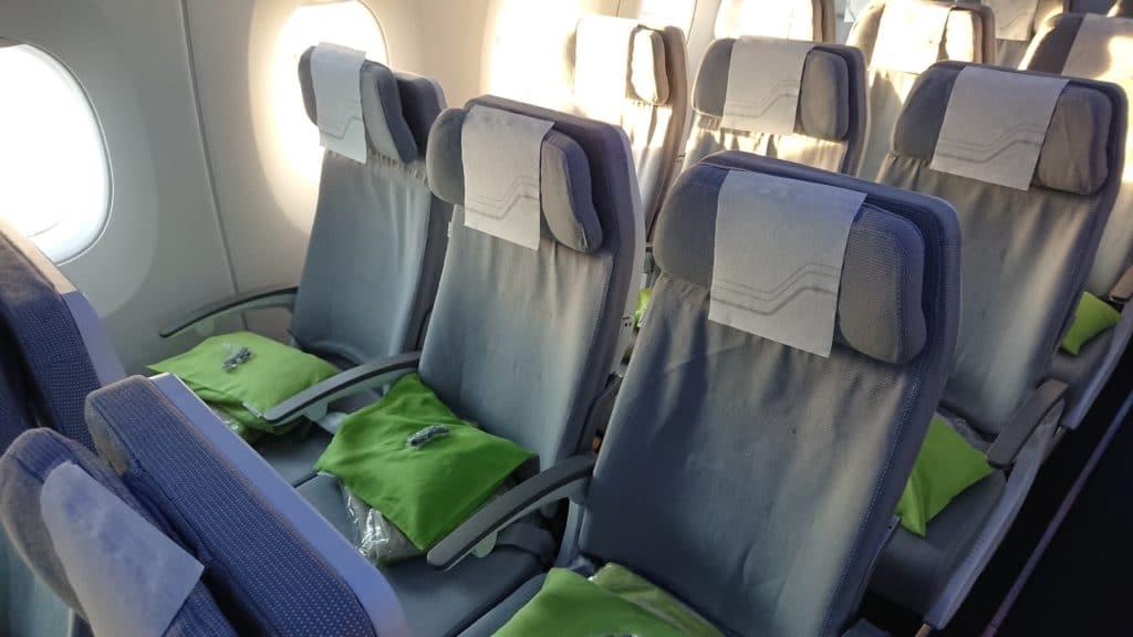 Finnair Economy Langstrecke Sitz