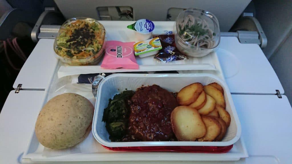 Finnair Economy Class Essen