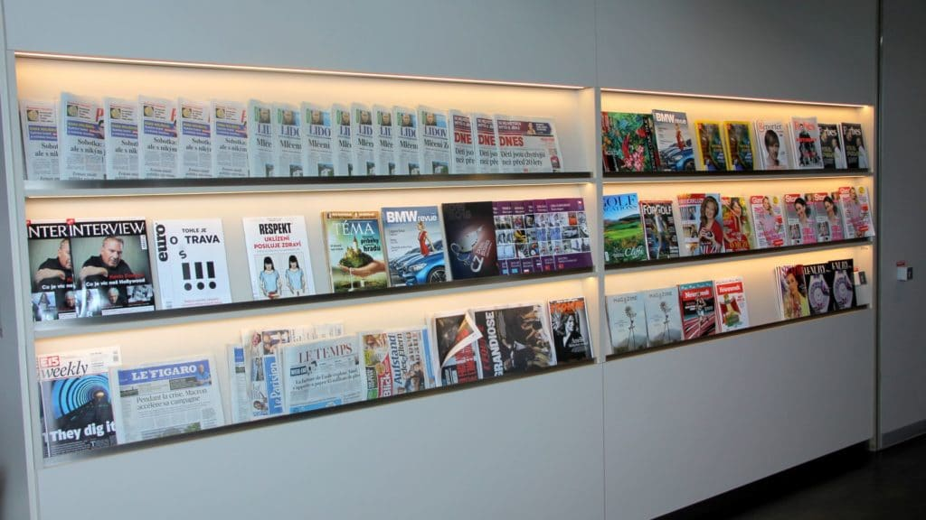 Erste Premier Lounge Prague Magazine