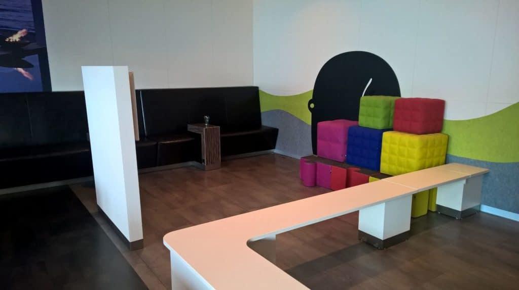 Erste Premier Lounge Prague Spielecke