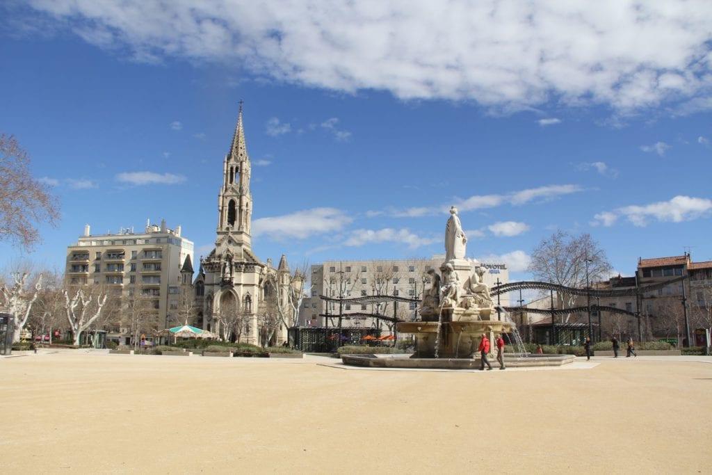 Esplanade Charles De Gaules Nimes