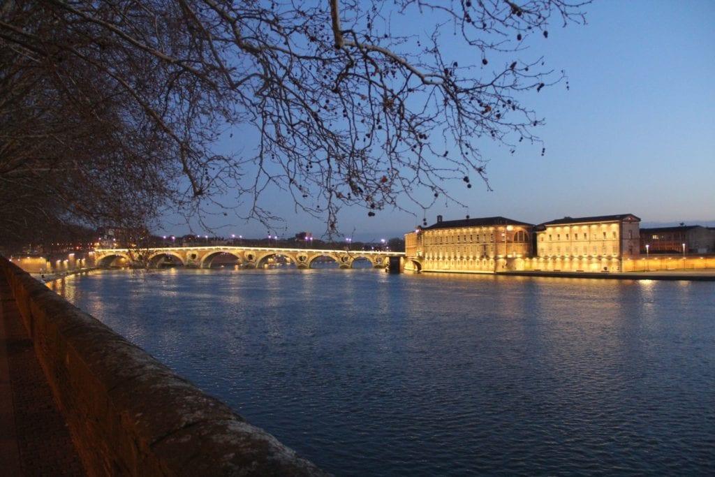 Garonne Nacht Toulouse