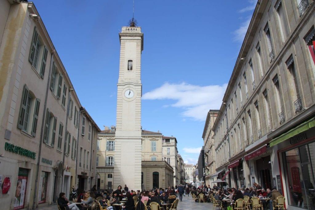 Glockenturm Nimes