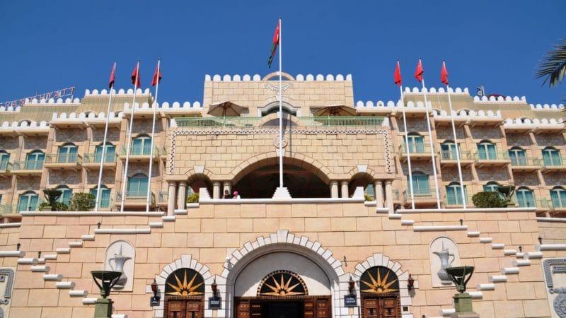 Grand Hyatt Muscat Gebäude