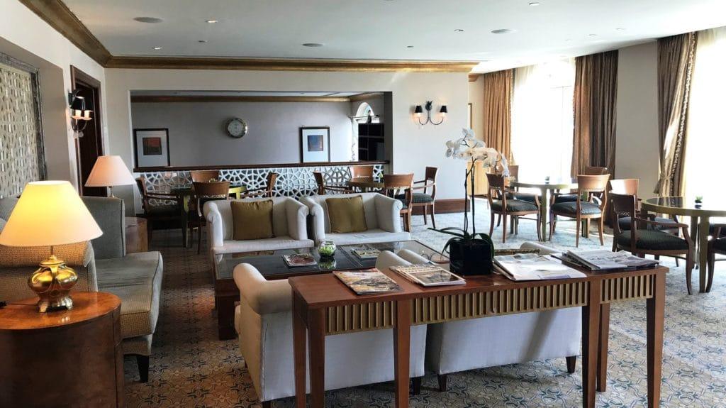 Grand Hyatt Muscat Lounge