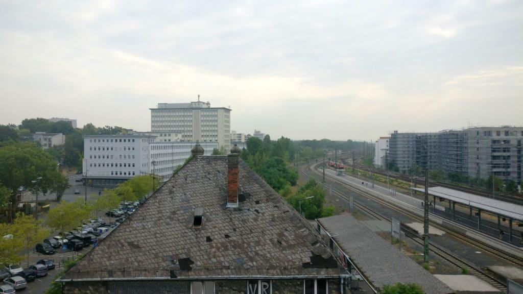 Hampton By Hilton Frankfurt East Ausblick