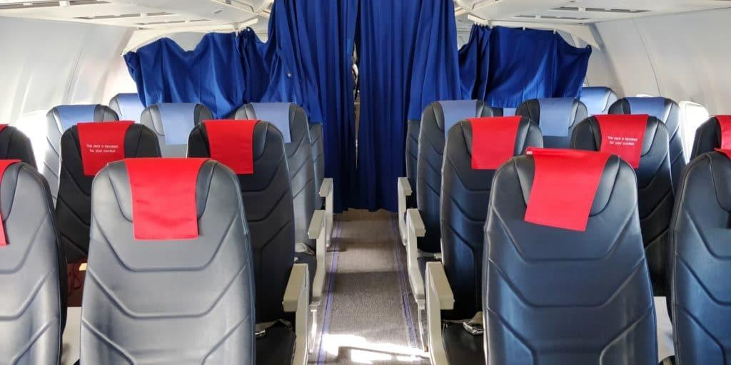 LOT Business Class Kurzstrecke Sitz