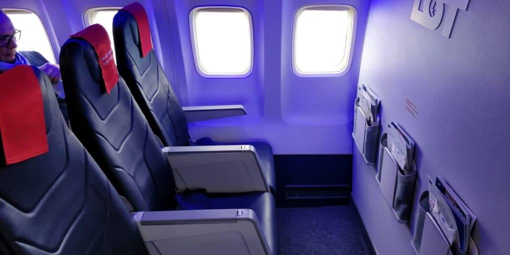 LOT Business Class Kurzstrecke Sitz 3