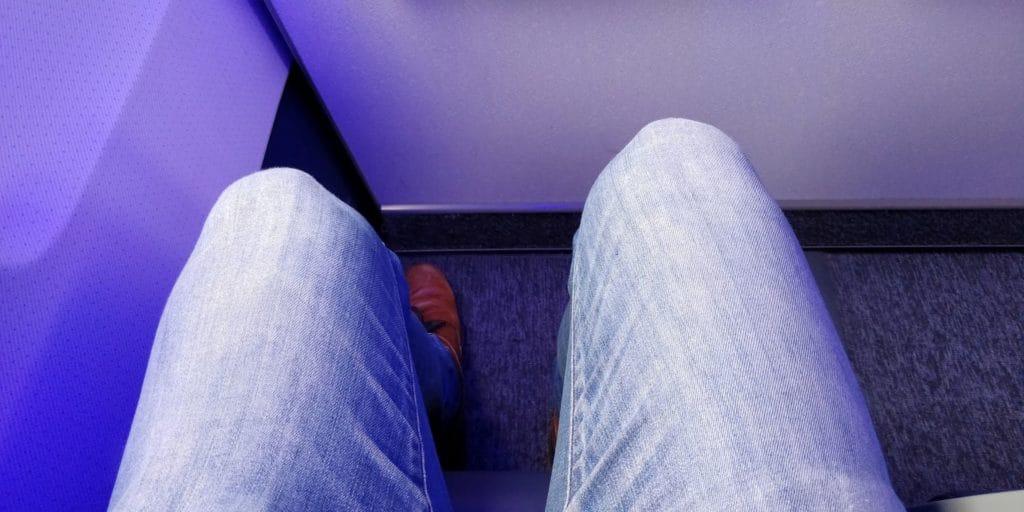 LOT Business Class Kurzstrecke Sitzabstand