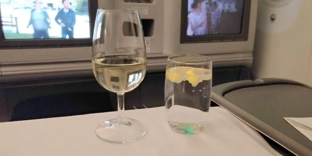 LOT Business Class Langstrecke Drinks