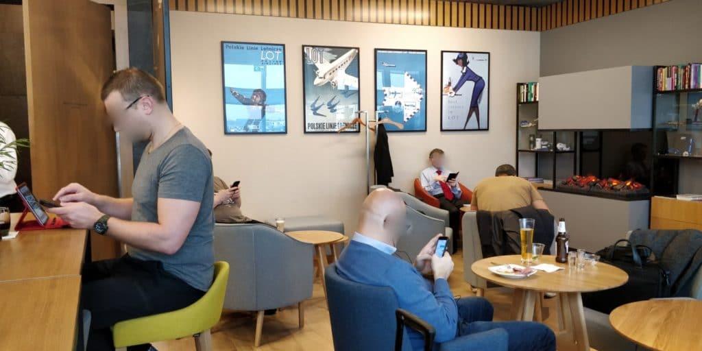 LOT Business Lounge Non Schengen Warschau 3