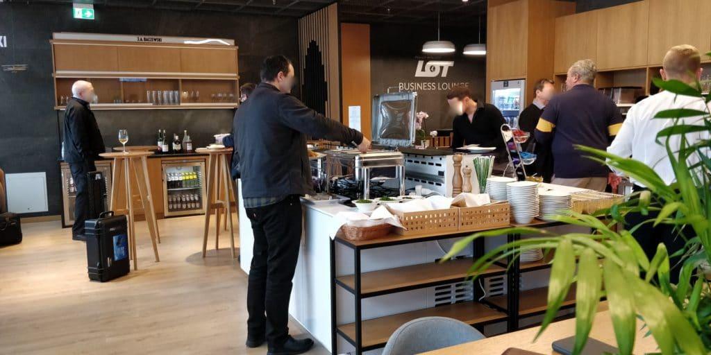 LOT Business Lounge Non Schengen Warschau 4
