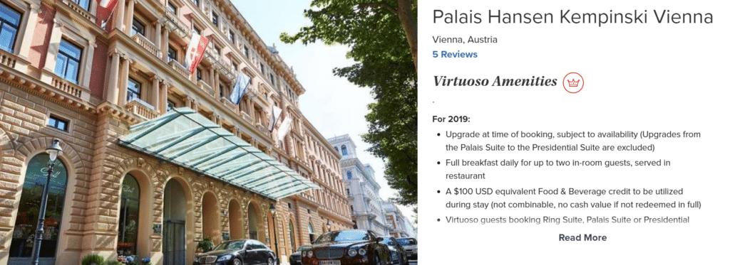 Palais Hansen Kempinski Virtuoso