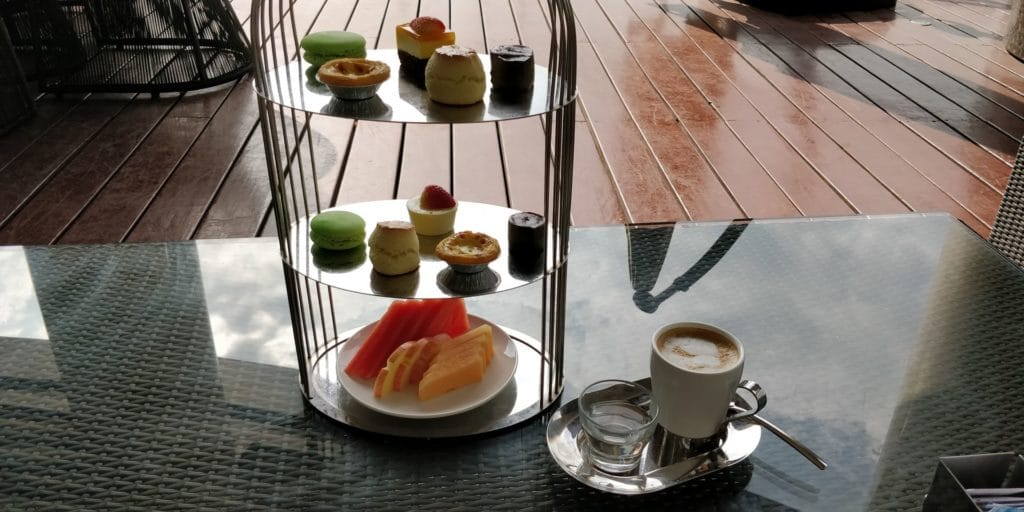 Sanya Yazhou Bay Resort Afternoon Tea