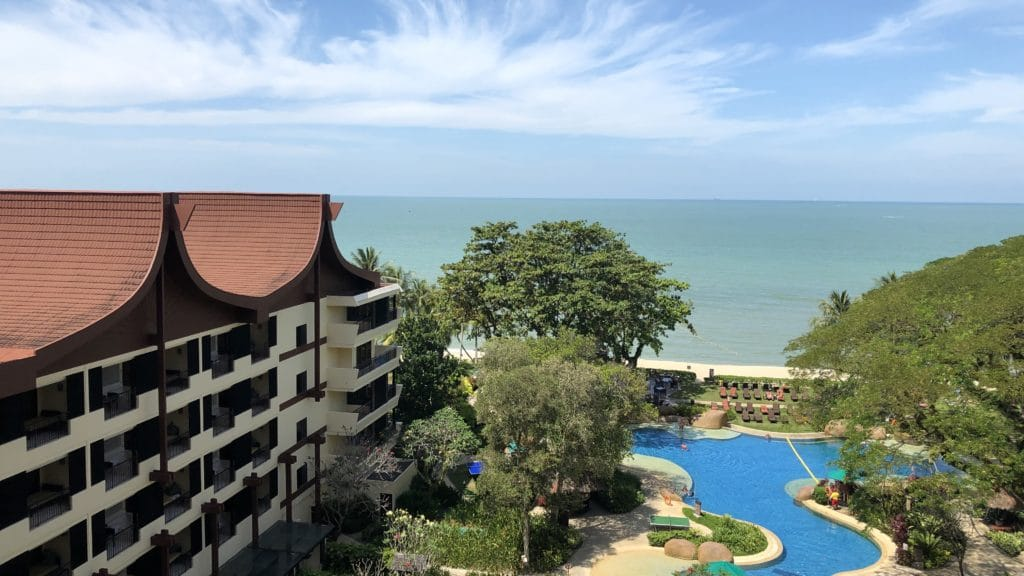Shangri La Rasa Sayang Resort Pengang Ausblick 2
