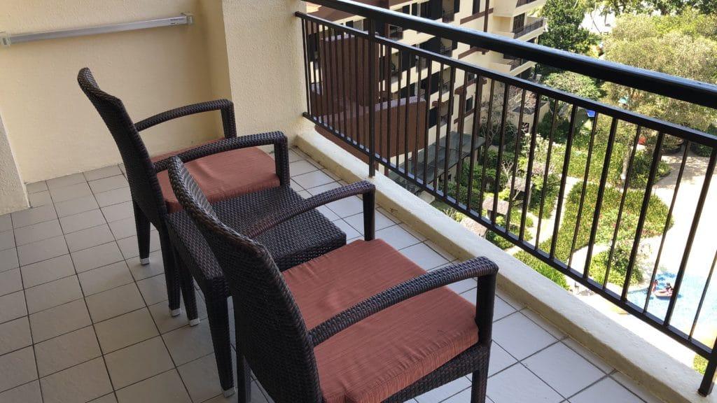 Shangri La Rasa Sayang Resort Pengang Balkon
