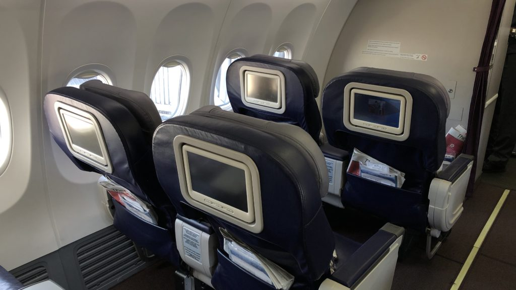 Malaysia Airlines Business Class Kurzstrecke Boeing 737 Sitze 2