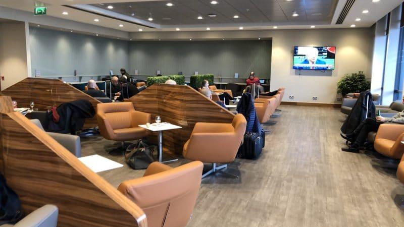 T1 Lounge Dublin Hinterer Raum