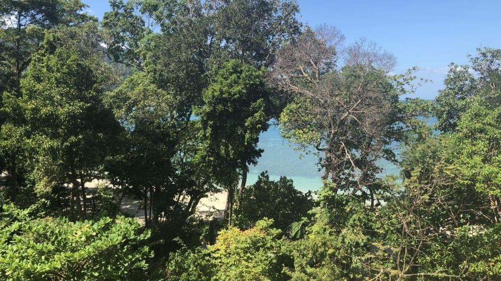The Andaman Resort Langkawi Zimmer Ausblick