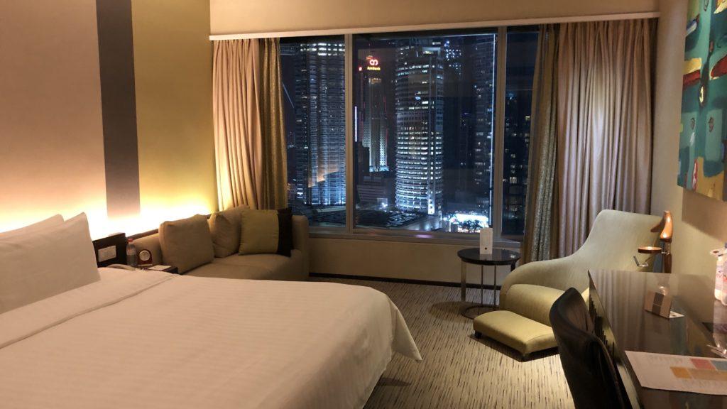 Traders Hotel Kuala Lumpur Zimmer