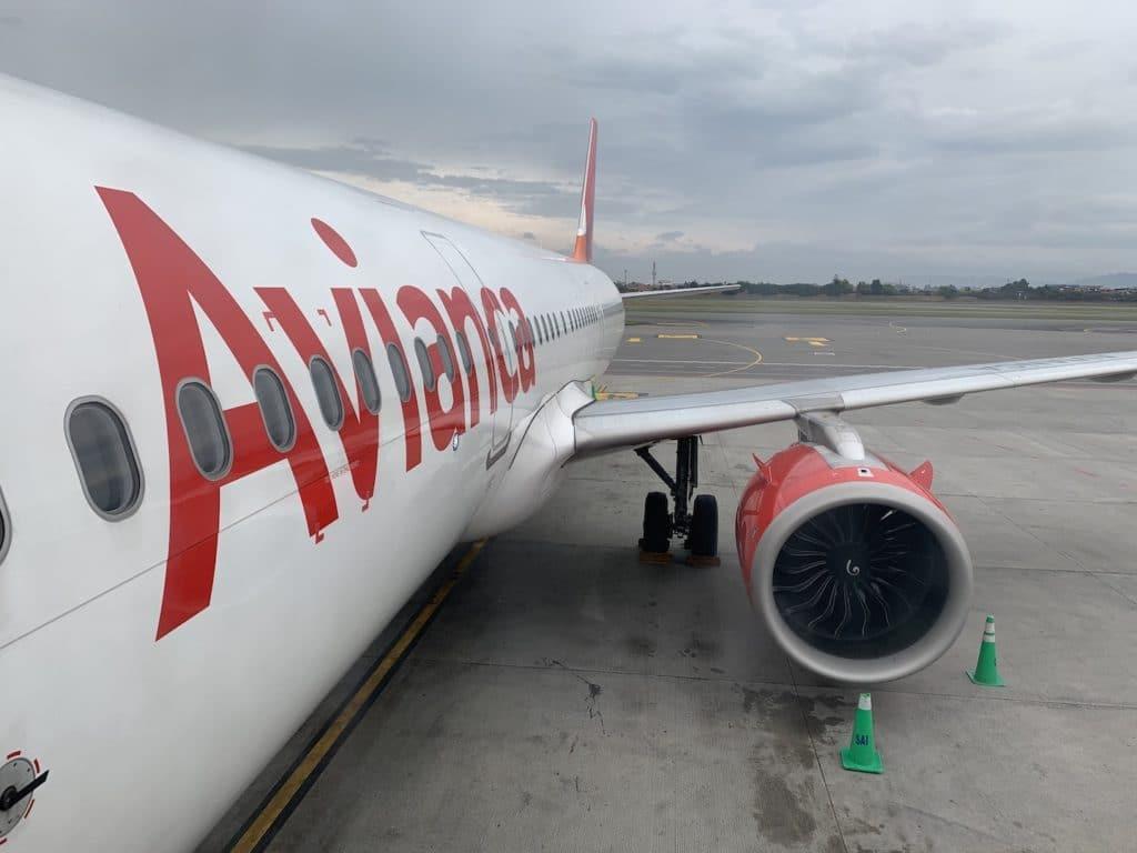 Avianca Economy Class Kurzstrecke A321 Neo