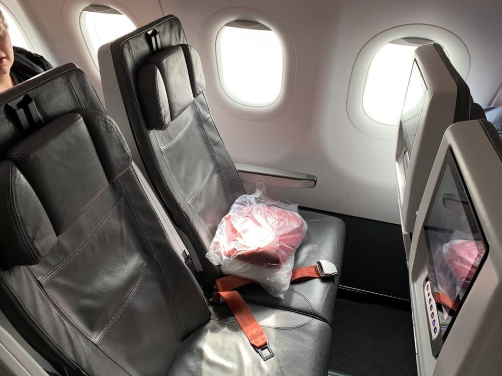 Avianca Economy Class Kurzstrecke A321 Neo SItz