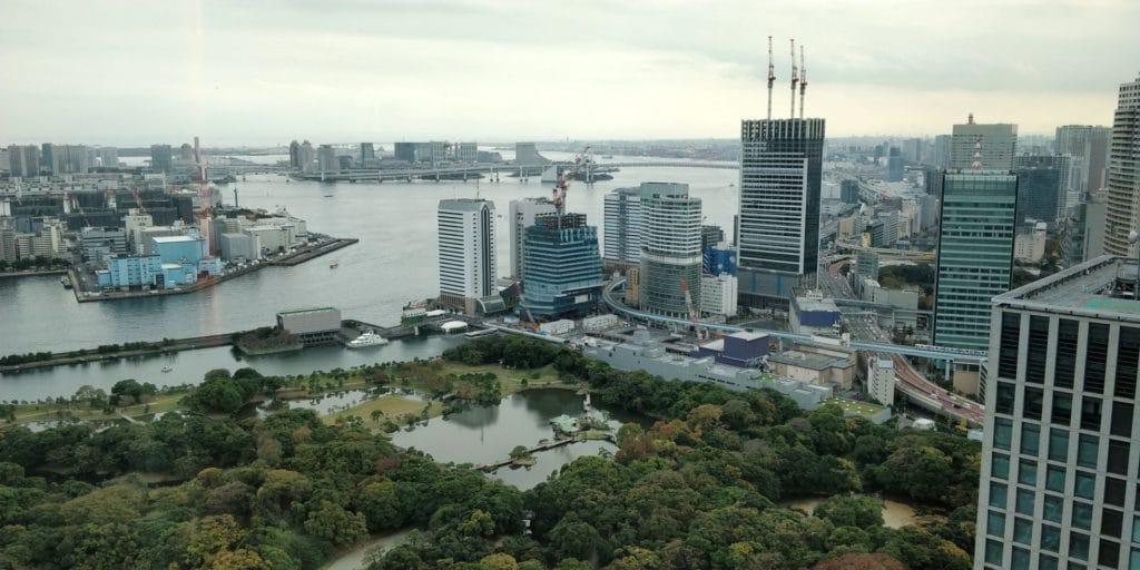 Conrad Tokio Bay View Suite Ausblick