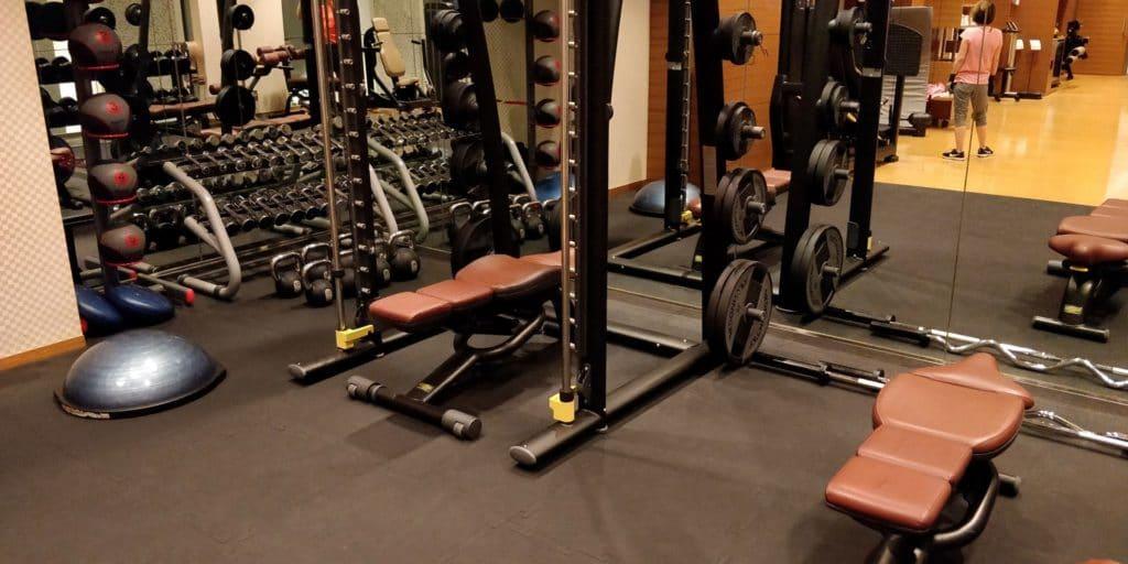 Conrad Tokio Fitness 2
