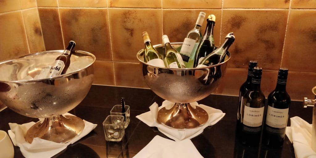 Conrad Tokio Lounge Abendessen 3