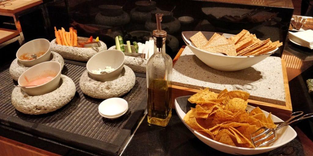 Conrad Tokio Lounge Abendessen 5