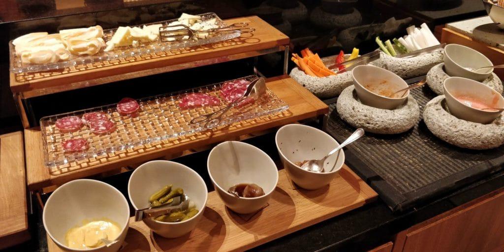 Conrad Tokio Lounge Abendessen 6