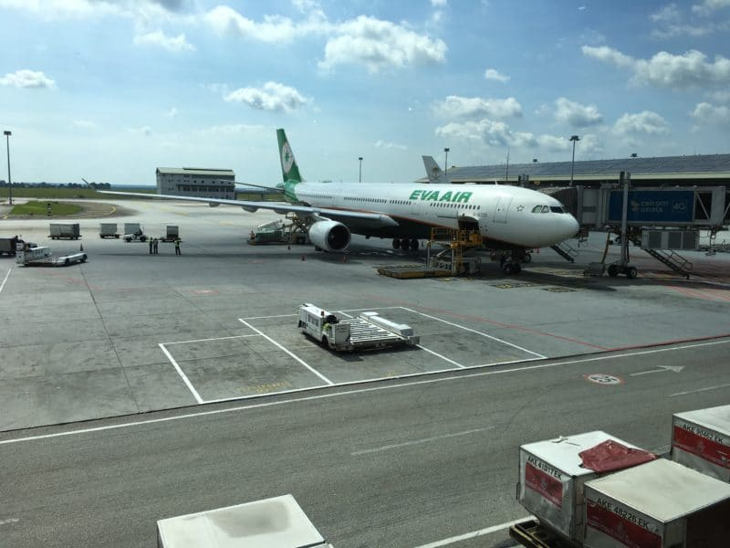 EVA Air Airbus A330 300