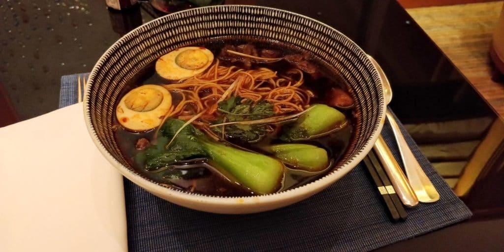 Four Seasons Shanghai Lounge Abendessen 10