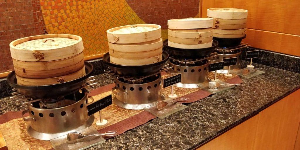Four Seasons Shanghai Lounge Abendessen 3