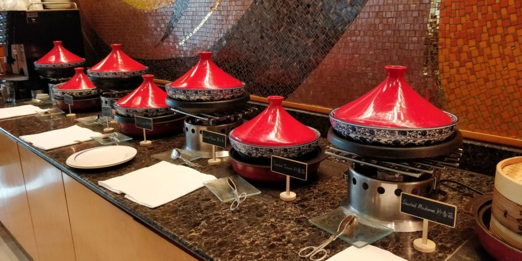 Four Seasons Shanghai Lounge Frühstück 4