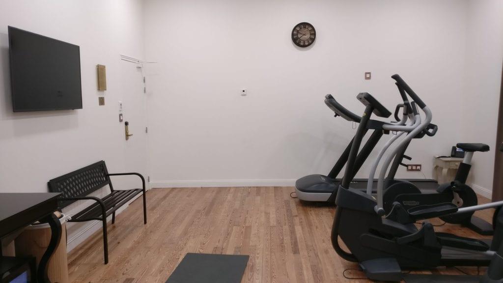 Grand Hotel Des Sablettes Plage Fitness