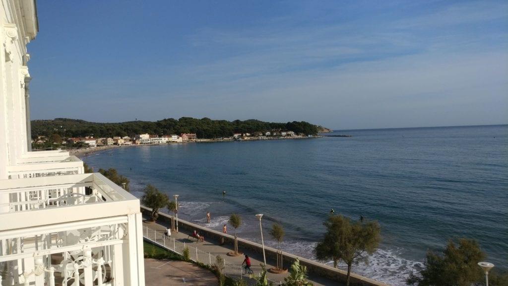 Grand Hotel Des Sablettes Plage Sea View Room Ausblick