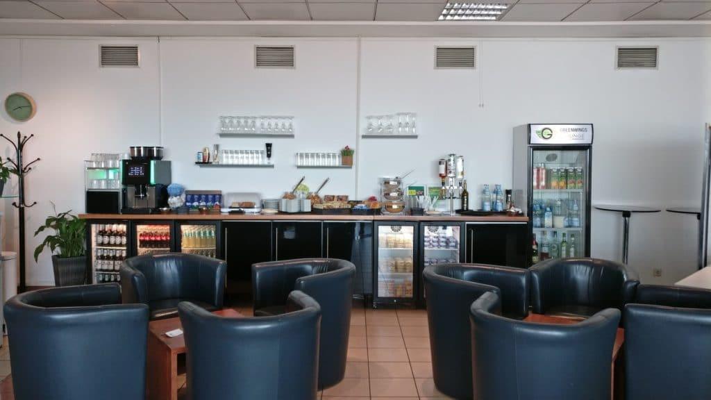 Greenwings Lounge Berlin Schönefeld Buffet