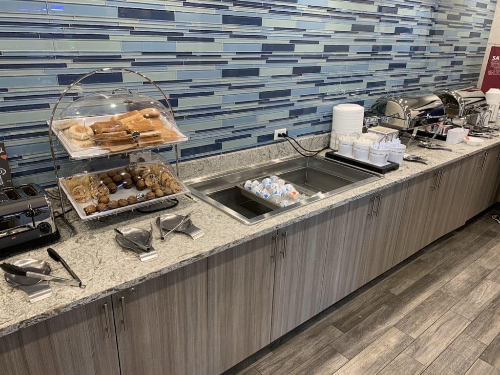 Hampton Inn Miami Airport Frühstück 2